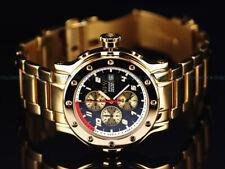 NFW Men's 44mm Regulator C3 Superluminova Citizen Chronograph Gold PVD SS Watch