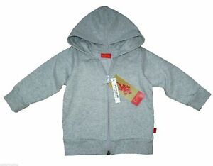 CFL Colors for Life  Baby Sweatjacke Kapuzen Jacke Gr 68 74  grau Baumwolle Neu