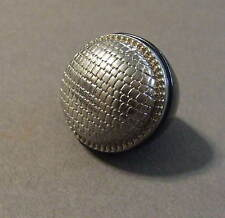 VINTAGE BLACK PLASTIC METAL DOME BULKY RING SIZE 6.5 (R62)
