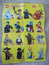 LEGO Minifigure Series Minifigures