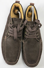 GEOX Respira Men's Suede Ankle Boots Fashion Lace-Up Dark Brown US 11 Mint
