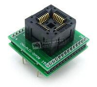 PLCC28 to DIP28 PLCC 1.27Pitch IC Socket Program Programmer Programming Adapter