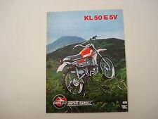 advertising Pubblicità 1976 MOTO GARELLI KL 50 E 5V