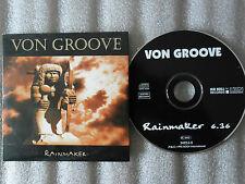 CD-VON GROOVE-RAINMAKER-NO BULL RECORDS-M&T-MLADEN/FORD-(CD SINGLE)-1995 1 TRACK