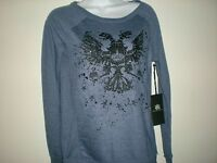 Women Rock & Republic Sweatshirt  Long  Size S NWT
