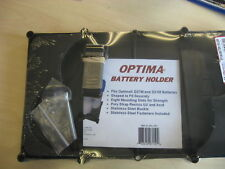 TH Marine Optima battery tray holder D27M and D31M AGM
