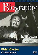 NEW Biography - Fidel Castro: El Comandante (DVD, 2005) Bio Channel Cuba Sealed