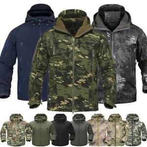 New ESDY Shark Skin Soft Shell Men's Outdoors Military Tactical Coat Jacket