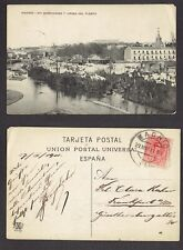 Spain 1911 This was Madrid in 1911 Postcard to Johannesburg SA Look!!!!!