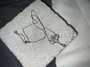 collier ancien argent