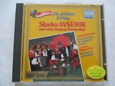 Slavko Avsenik und seine Original Oberkrainer - Die größten Erfolge - CD RARITÄT
