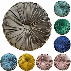 New Cushion Soft HOLLAND PLUSH Velvet Cushions Luxury Chic Filled cushion Round