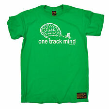 One Track Mind Cycling T-SHIRT Cyclist Jersey Bike Tee Funny birthday gift