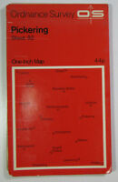 Old Vintage 1970 OS Ordnance Survey Seventh Series One-Inch Map 92 Pickering
