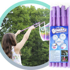 Giant Bubble Wands Bubble Toy 2 Piece set for Kids BIG Bubbles Maker Party Favor