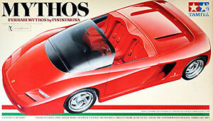 Ferrari Myth By Pinifarina 1989 (Testarossa) Tokyo Motor Show 1:24 Kit