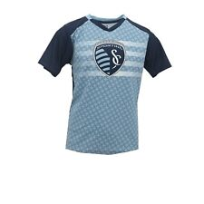 Sporting Kansas City Official MLS Apparel Kids Youth Size Athletic T-Shirt New