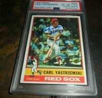 1976 TOPPS #230 CARL YASTRZEMSKI SIGNED BOSTON RED SOX INSCRIBED HOF '89 PSA/DNA