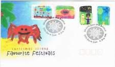 Christmas Island 1999 FDC 462-465 - Favourite Festivals