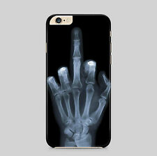 Skeleton Hand X-Ray Swearing Phone Case Cover
