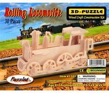 Holzbausatz Lokomotive - 3D Puzzle