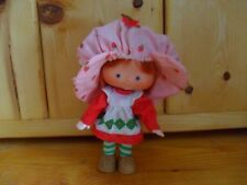 Vintage Strawberry Shortcake Flat Hands Doll