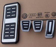 Audi A1 ab 2015 original S-Line Pedalset Pedale Pedalkappen Fußstütze footrest