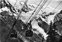 BF40490 chamonix brevent et mont blanc   france  cable train teleferique