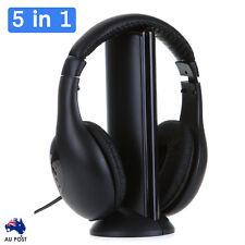 5 in 1 Wireless Earphone  Headphone for  PC Laptop TV MP3 MP4 AU