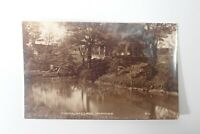 Sussex POYNINGS The Haunted Pool - Old RP Postcard - A039