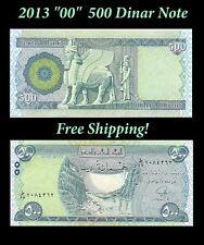 500 New Iraq Iraqi Dinar 2013 Notes x 10 = 5000 5,000 Post Iraq War Collectible