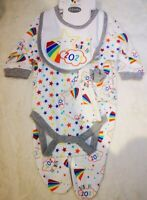 BORN IN 2021 New-Born Baby Clothes Cotton Baby Set 5 pieces 0-3 months