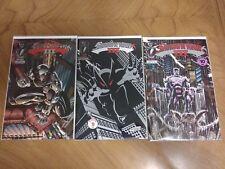 SHADOWHAWK III ISSUES #1-3 (IMAGE, 1993)