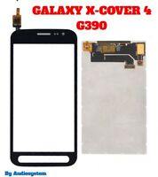 DISPLAY LCD+TOUCH SCREEN per SAMSUNG GALAXY X-COVER 4 SM-G390 G390F VETRO NERO