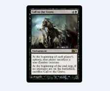 4x Call to the Grave MTG Magic 2012 M12 No85 NM/Unplay English R card X4