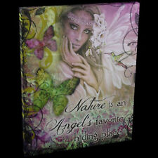 Jessica Galbreth Spiritual Fantasy Canvas Wall Art Plaque Natures Angels