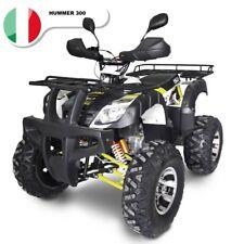 Quad Motore 4 Tempi 270cc NCX Moto Hummer 4 MARCE+retromarcia con portapacchi