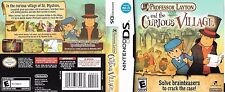 Professor Layton and the Curious Village (Nintendo DS, 2008) Rated E Complete