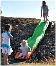 LoggyLand Hangrutsche Rutsche Kinderrutsche Wellenrutsche 3,80 m rutschen