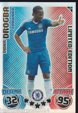 MATCH ATTAX 10/11 Didier Drogba CHELSEA LIMITED EDITION LE2
