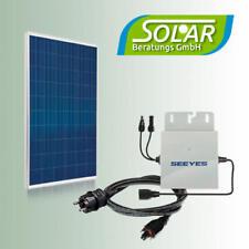 285 Watt Haus-Solaranlage Balkonkraftwerk Camping Photovoltaik