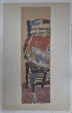 JEAN POUGNY  lithographie originale signée art abstrait artiste Russe 1894-1956