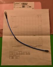 NEW Huber Suhner MF86/16MMPX/11SK/305mm coax cable, operating frequency 40 GHz