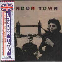 PAUL MCCARTNEY - WINGS - LONDON TOWN (1978/2000) Beatles CD Gatefold OBI+GIFT