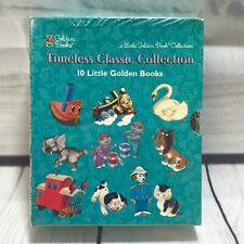 New Sealed 10 Little Golden Books 1997 Classic Collection Childrens Box Set NOS