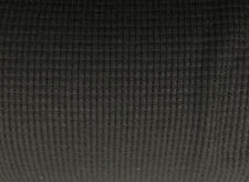 Supima Modal Spandex Thermal Knit Fabric by the Yard Waffle Weave - Black