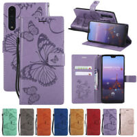 For Huawei P Smart P20/Pro/Lite PU Leather Stand Flip Wallet Cover Phone Case