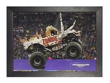 Monster Truck Zombie Extreme Sports Poster Pickup Vehicle Cars Photo Motocross