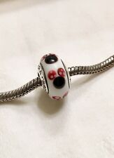 Pandora silver 925 ALE  murano bead glass Disney Minnie 791634