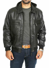 Leather Bomber, Harrington Regular Coats & Jackets for Men